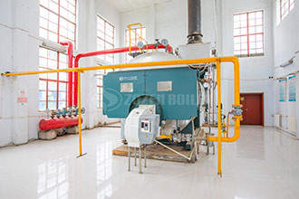 light oil fired thermal fluid boiler for hotel industrial oil