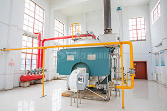 fully automatic 8t gas hot water boiler azerbaijan