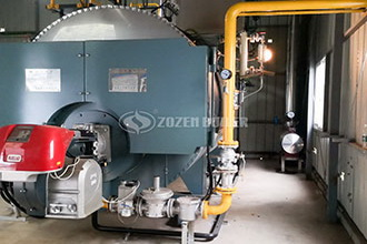 heavy oil hot oil boiler for food industry - hotel