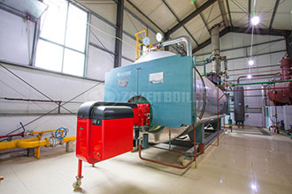 high efficiency boiler for textile industry