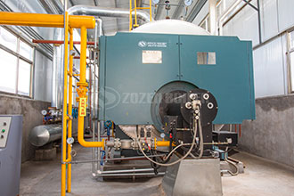 130t h hot water boiler in paper factory