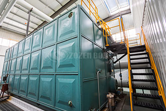 small oilgas fired furnace industrial boiler