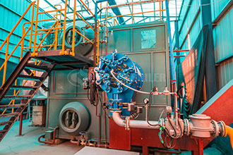 tube boilers - single drum water tube boiler