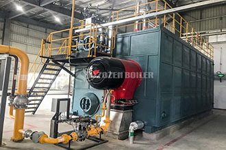 oil fired 30 ton boiler for thermal plant